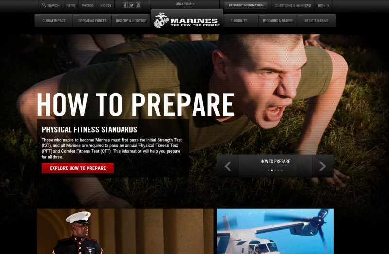 Des hackers syriens piratent le site de recrutement des Marines des USA
